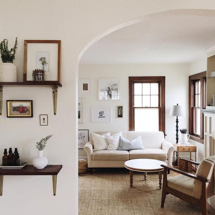 White Walls Living Room Pueblosinfronteras Us