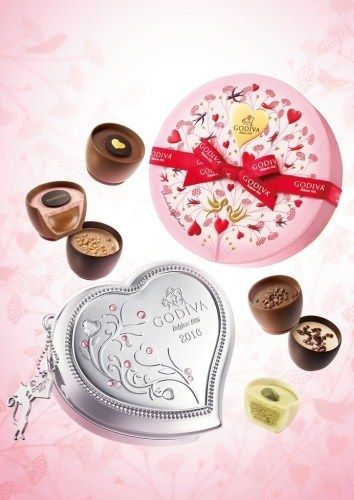 ゴディバ、バレンタイン限定「クープダムール コレクション」