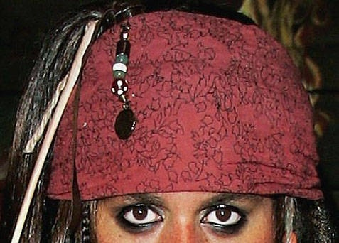 Jack Sparrow DIY costume how to..Yay I get to put guyliner on my husband!