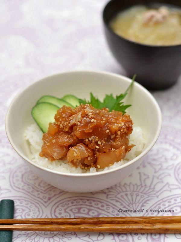 びんちょうまぐろのコク旨漬け丼 by 西山京子/ちょりママ | レシピサイト「Nadia | ナディア」プロの料理を無料で検索