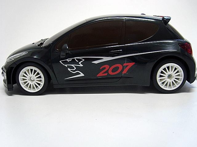 Brigamo RC Auto Peugeot 207 www.modellbau-rc.de