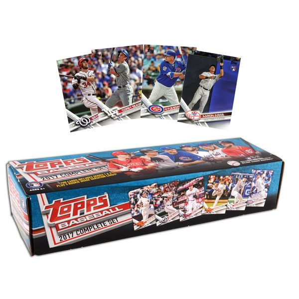 2017 Topps Baseball Retail Edition Complete 705 Card Factory Set - $49.99