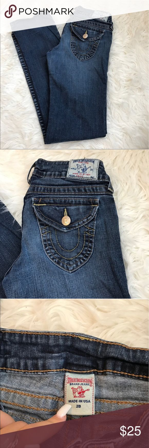 BOGO❤️True Religion bootcut jeans Perfect condition! Price won't last long! True Religion Jeans Boot Cut