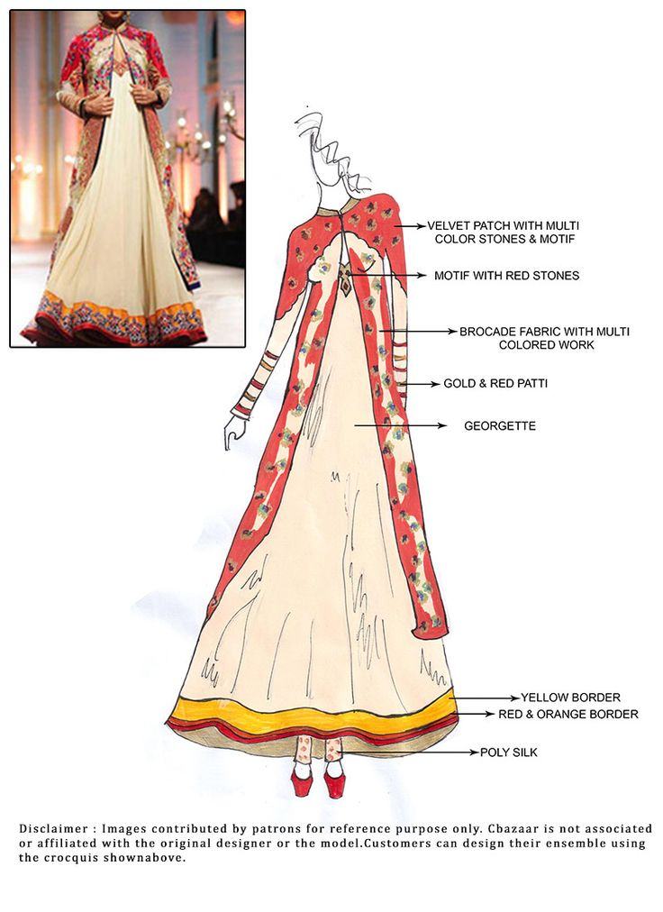 #DIY #Cream Floor Length #Anarkali #Suit