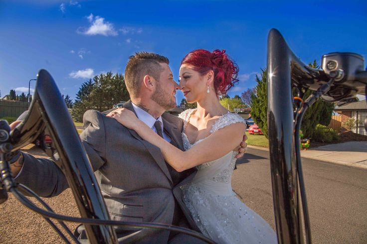 Dale & Carmen's Bike and Bride Melbourne Wedding -