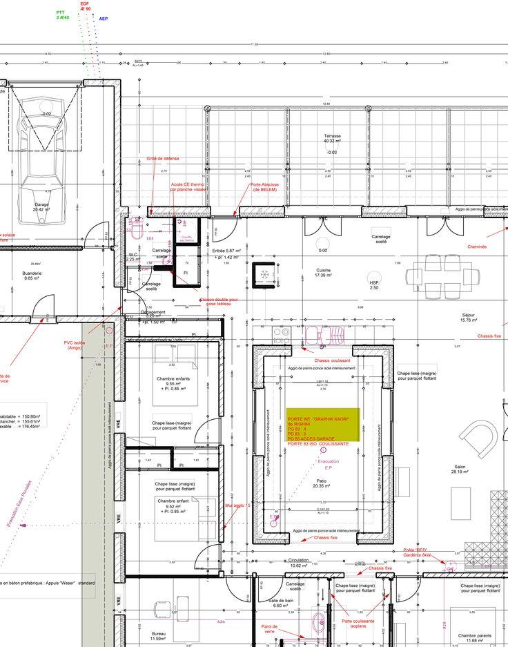 25 melhores ideias sobre faire construire sa maison no - Faire plan de sa maison ...