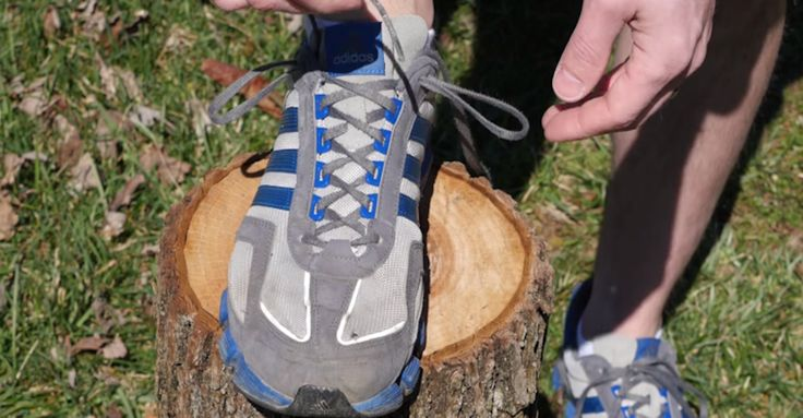 The Life-Changing Reason Running Shoes Have An Extra Shoelace Hole