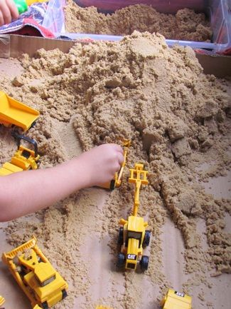 tabletop sand play i will probably add some more resources here to help children increase