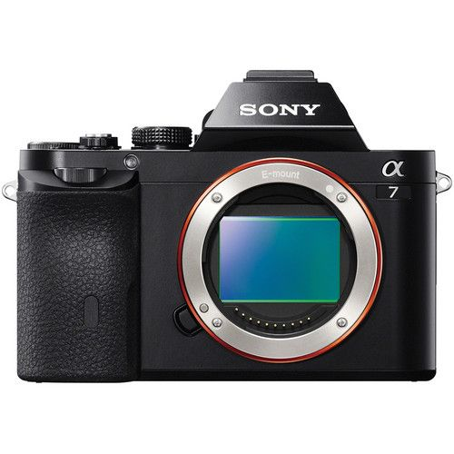 Sony A7 Mirrorless interchangeable lens camera