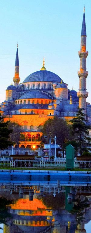 The Sultan Ahmet Mosque or Blue Mosque - Istanbul | Turkey
