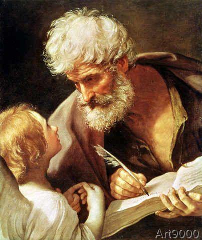 Guido Reni - Saint Matthew