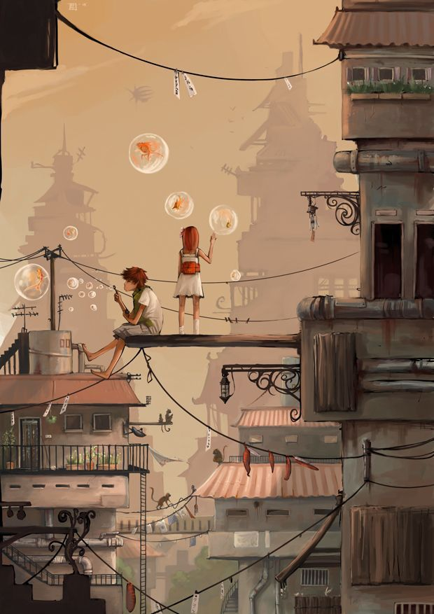 Brawe New Worlds. City Escape.