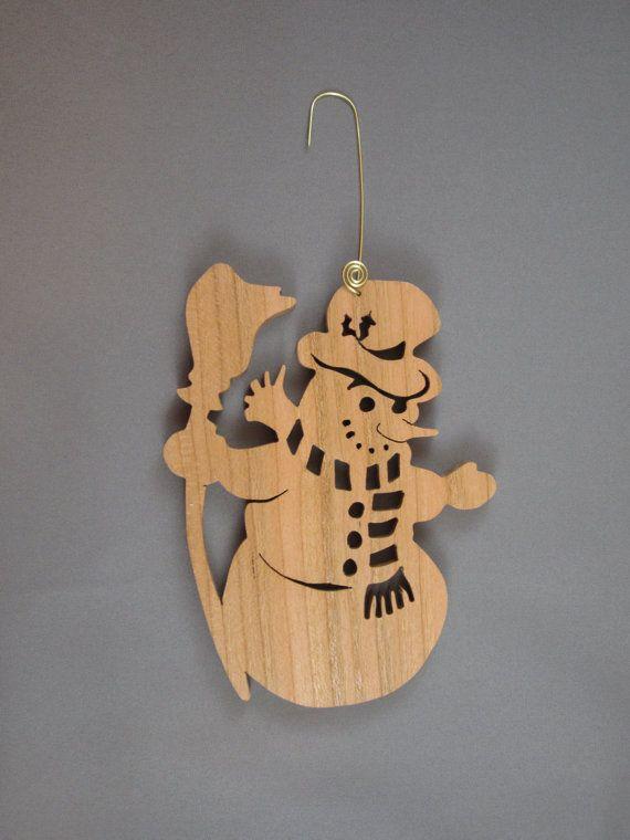 Les 25 meilleures id es de la cat gorie bonhommes de neige en bois sur pinterest bricolage - Bonhomme de neige en bois ...