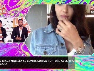 Nabilla en couple avec Thomas Vergara, elle se confie sur leur séparation dans le Mad Mag (Vidéo)