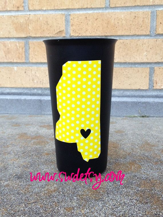 Southern Miss tailgating tumblers  my by StuartWallaceDesigns, $24.00