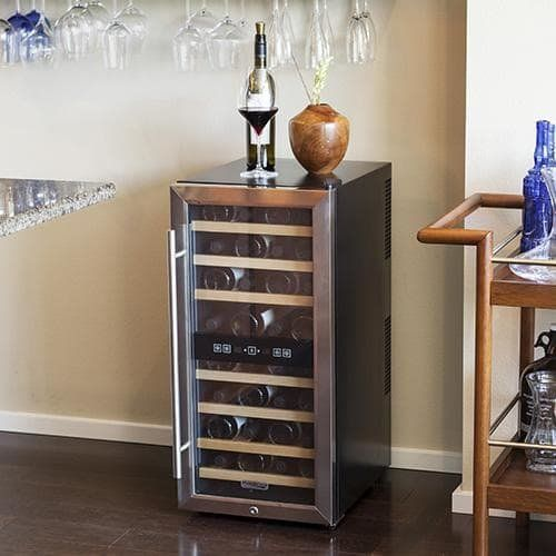 Koldfront Bottle Free Standing Dual Zone Wine Cooler Best Offer. Best price Koldfront 32 TWR327ESS Bottle Free Standing Dual Zone Wine Cooler - Koldfront Bottle Free Standing Dual Zone Wine Cooler #Koldfront #Bottle #Standing #DualZone #WineCooler