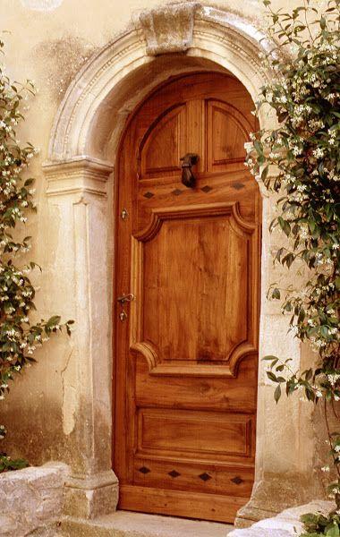 Handmade door in Goult ~ Provence, France.