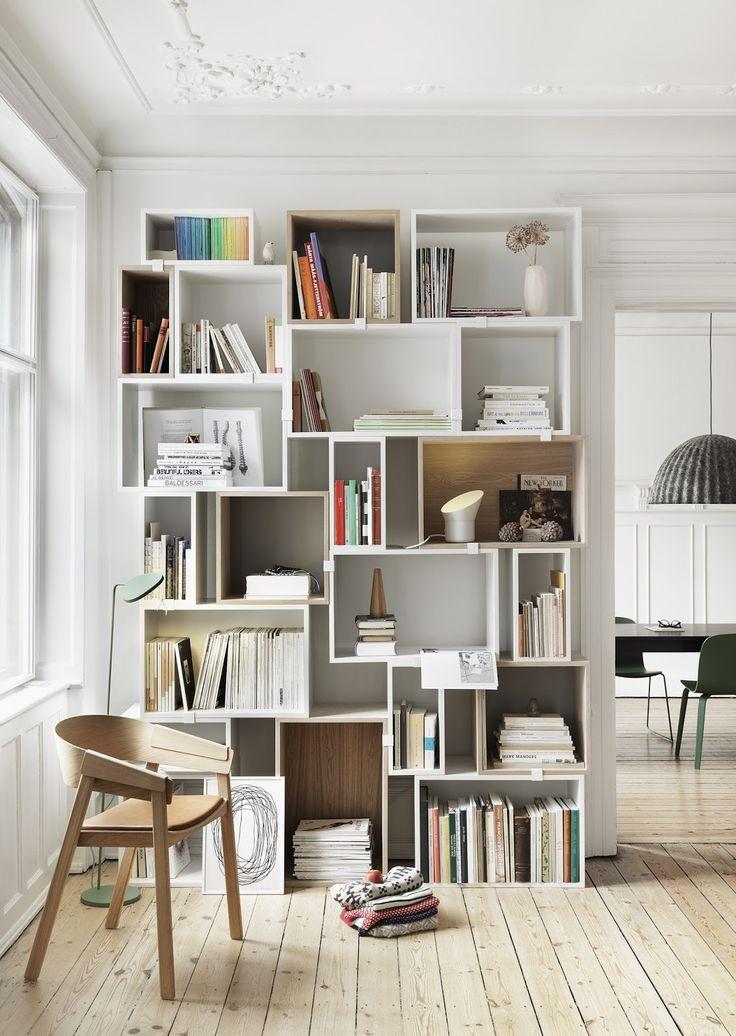 il priscio del design: Librerie componibili in totale libertà