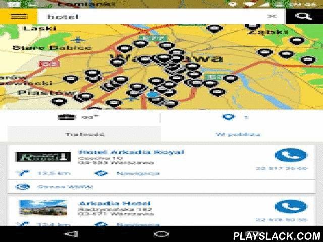 """Panorama Firm  Android App - playslack.com ,  """"Panorama Firm to wyszukiwarka lokalna, z którą zawsze trafisz do celu - niezależnie od tego, dokąd zmierzasz. Życie jest pełne niespodzianek, nie daj się im zaskoczyć - Panorama Firm pomoże Ci znaleźć najbliższy hotel, kwiaciarnię, salon fryzjerski, kancelarię prawniczą, adres albo... chyba już wiesz, jak to działa! Nasza aplikacja przydaje się na każdą okazję.Funkcjonalności, za które pokochasz naszą aplikację:- Zaprojektowana do szybkiego…"""