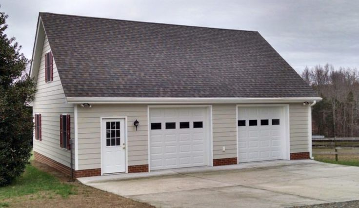 Best 25 detached garage designs ideas on pinterest for How much to build a garage with loft