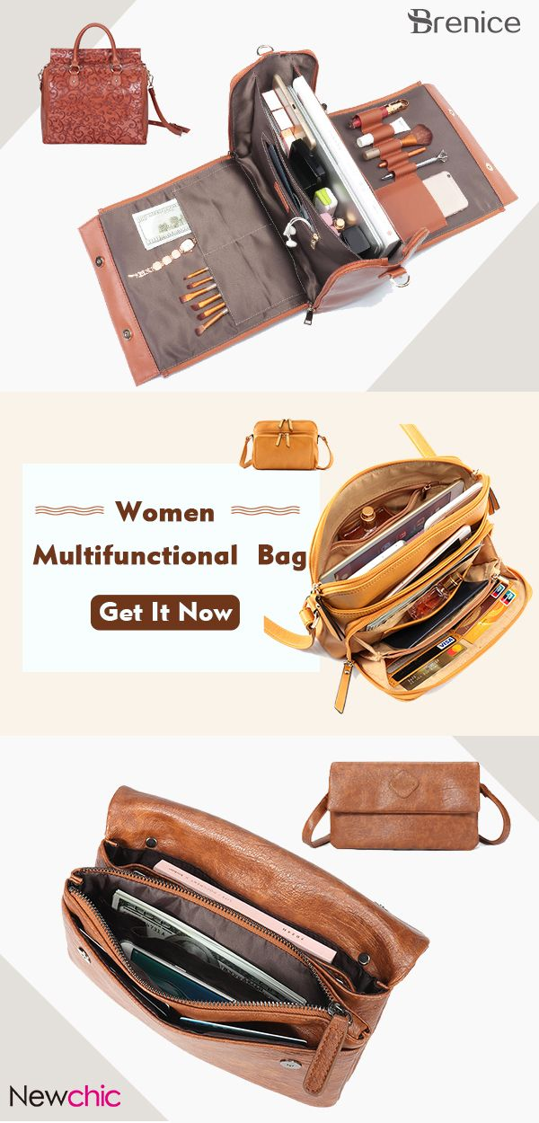 UP TO 60% OFF 2018 Must-have Women Multi-Functional Bag  BreniceBags   BestBagShop  LeatherBags c650029f8e5cf