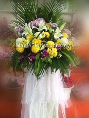Our thoughts go out to you. Kota Tinggi Condolences flowers delivery: We offers a wide array of sympathy flowers to convey your sorrow for the loss of a loved one, send sympathy flowers to kota Tinggi with same day. Delivery coverage: Within Malaysia