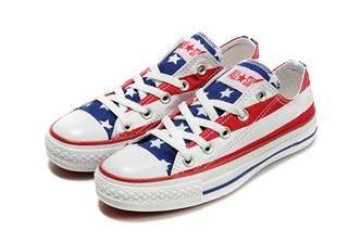 Converse Outlet Online - Converse American Flag Red Blue White Low [cyclealot50233] - $57.10 : Converse for kids, Converse women