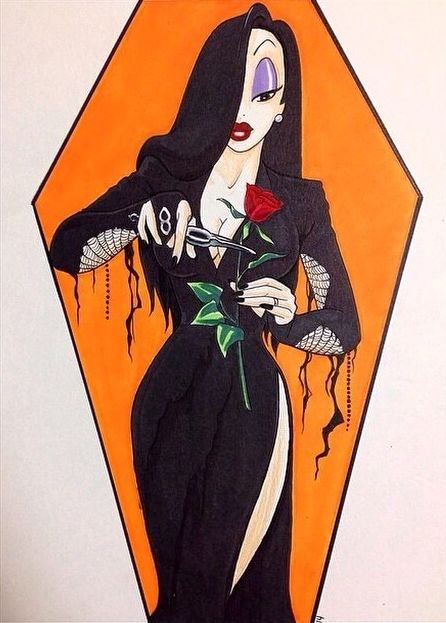 Morticia as Jessica rabbit                              …