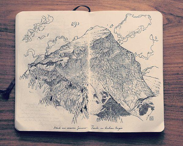 2.2 Sketchbook 2014 on Behance