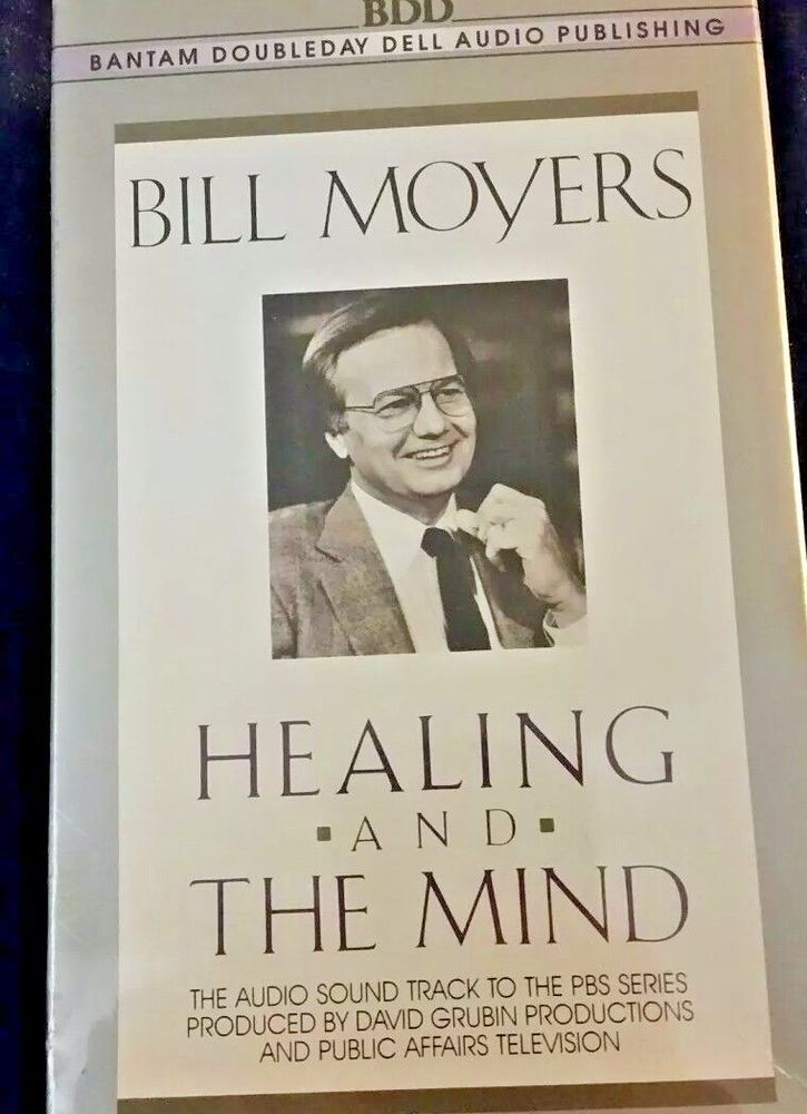 Bill Moyers - Healing and the Mind - Audiobook - New in Plastic