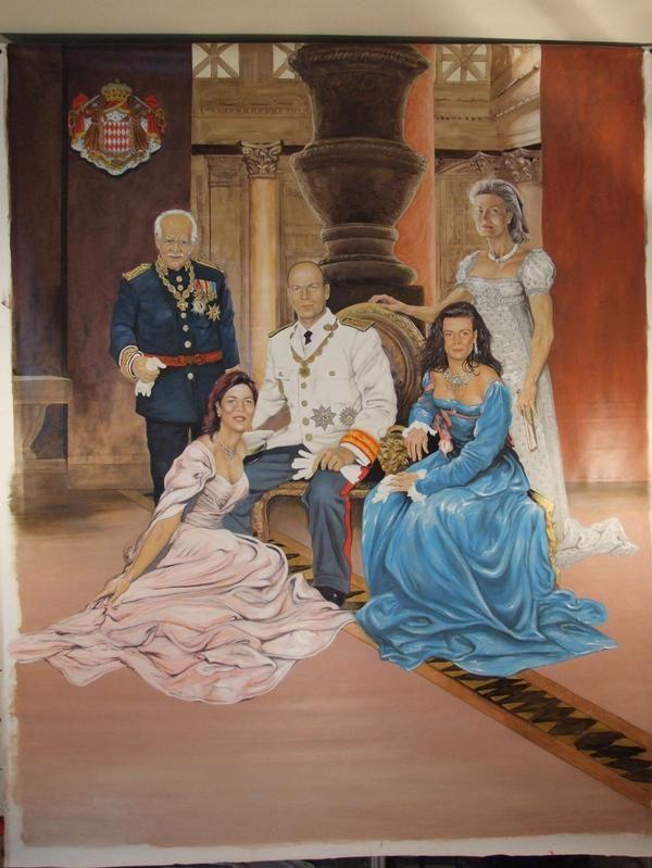 monaco royal family   Monaco Royal Family by Galliano