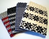 Hand Knitted iPad Cover. Keeps your iPad warm as well as protected!