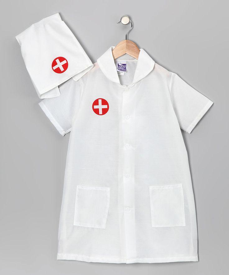 Look at this #zulilyfind! White Nurse Dress-Up Set - Girls by Story Book Wishes #zulilyfinds