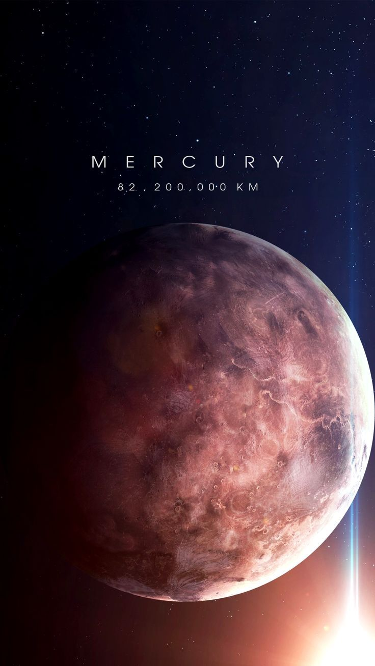 Mercury – Distance from Earth