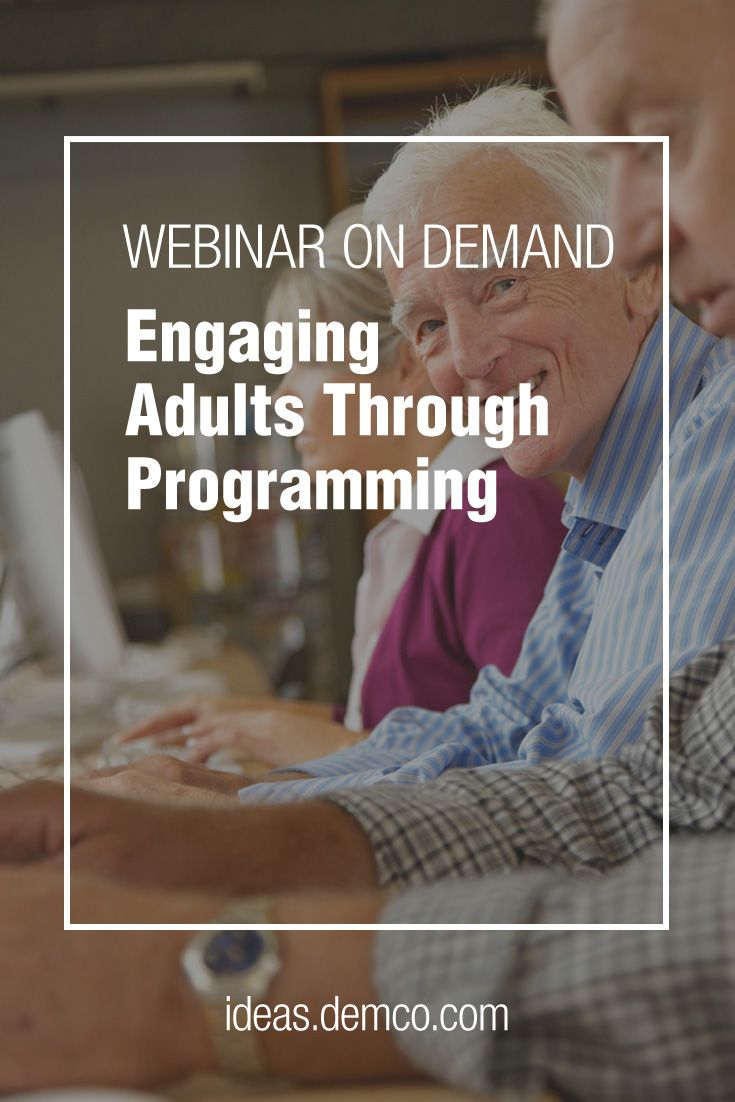 Watch this webinar to learn how King County Library System & San Francisco Public Library make rich, meaningful connections within their communities, understand needs and develop powerful partnerships to deliver adult programs that have a positive community impact. #demcoideas
