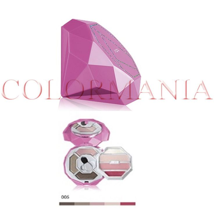 PUPA CRYSTAL DIAMOND VIOLA SCURO TROUSSE PRIMER OMBRETTI GLOSS COLORE 05