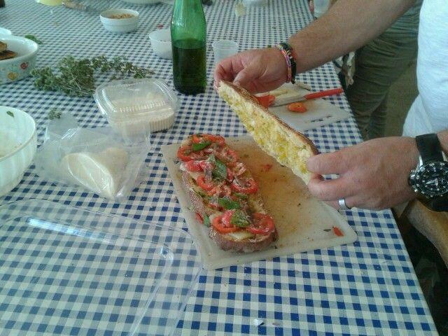 pane cunzatu...pausa lavorativa siciliana