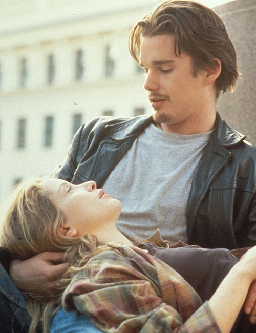 Before Sunrise (1995) My favourite movie by Ethan Hawke <3