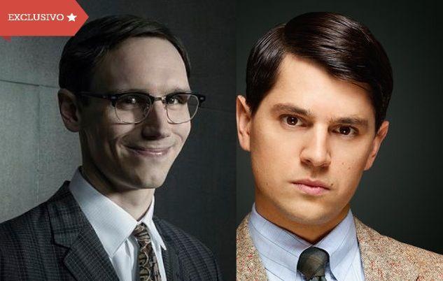 #Gotham: Nicholas D'Agosto e Cory Michael Smith apresentam seus personagens