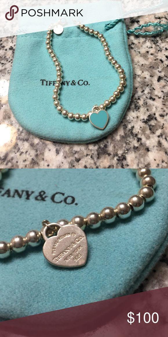 Please return to Tiffany bead bracelet 💙 Never worn, Tiffany beaded bracelet. Comes with jewelry bag. 💯Authentic Tiffany & Co. Jewelry Bracelets