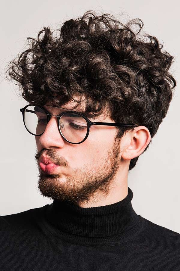 Jewfro Hairstyle Almanac For The High End Hair Look Menshaircuts Com Men Haircut Curly Hair Curly Hair Men Wavy Hair Men