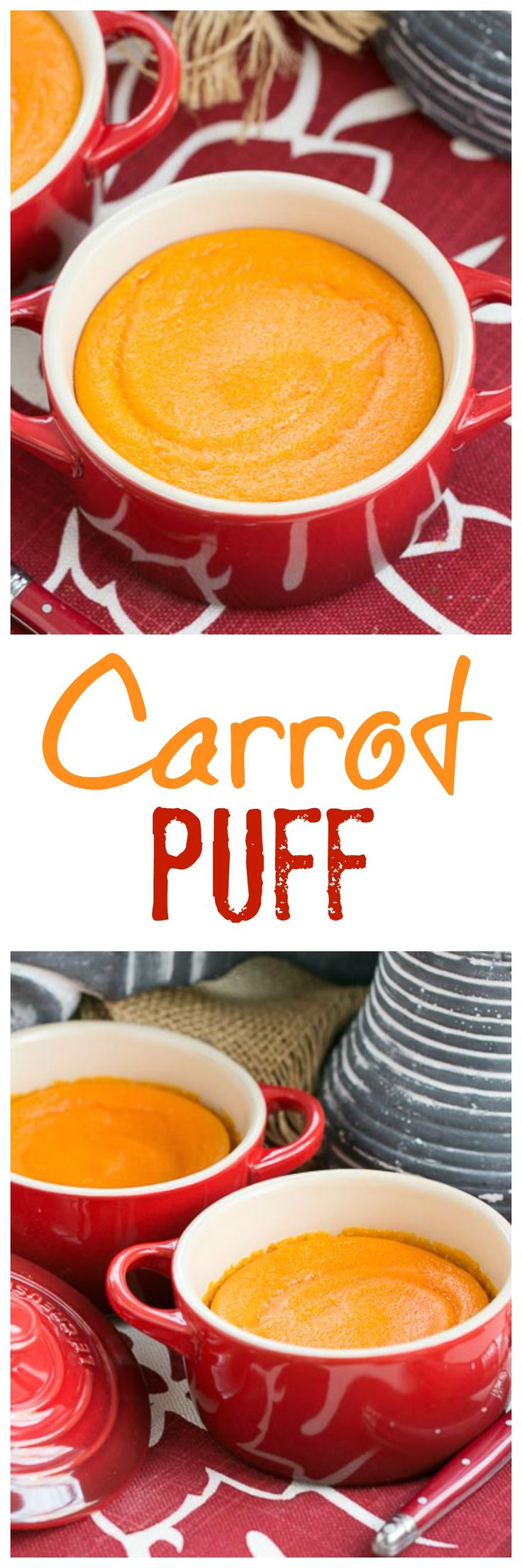Carrot Puff | A lovely twist for your vegetable course @lizzydo