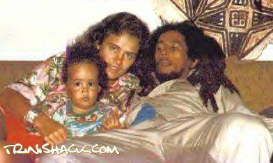Bob Marley, Damien Marley, Cindy Breakspeare