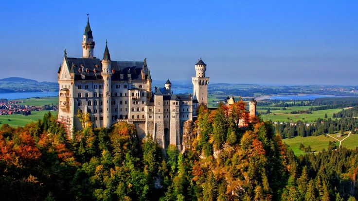schloss neuschwanstein 100 sch nsten orte mit dem. Black Bedroom Furniture Sets. Home Design Ideas