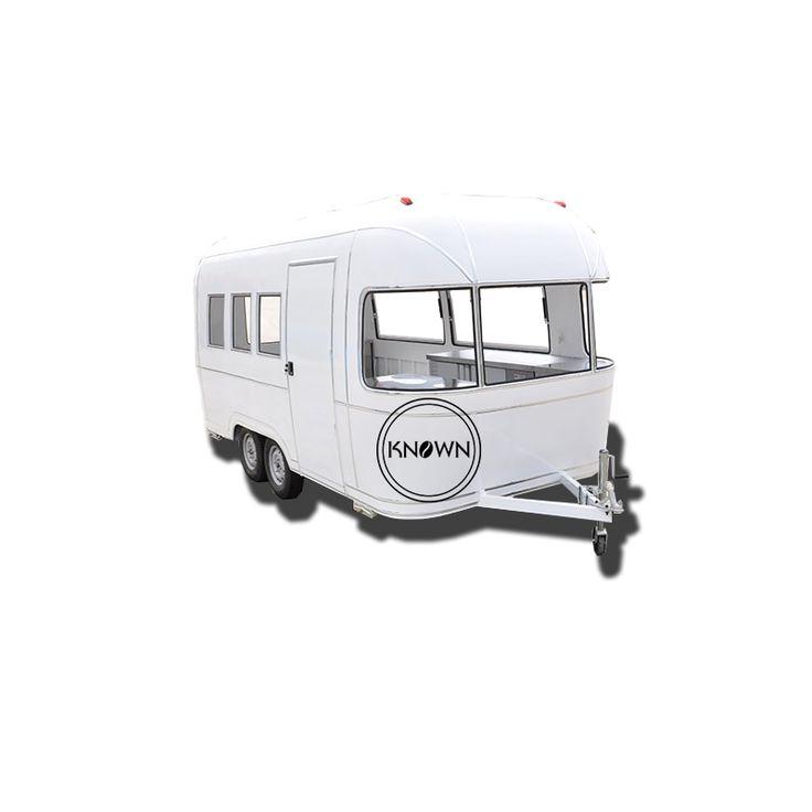 5m length ice cream trucks bakery food cart trailer crepe