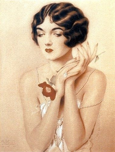 Painting of my grandmother by Alberto Vargas in 1926 - Imgur
