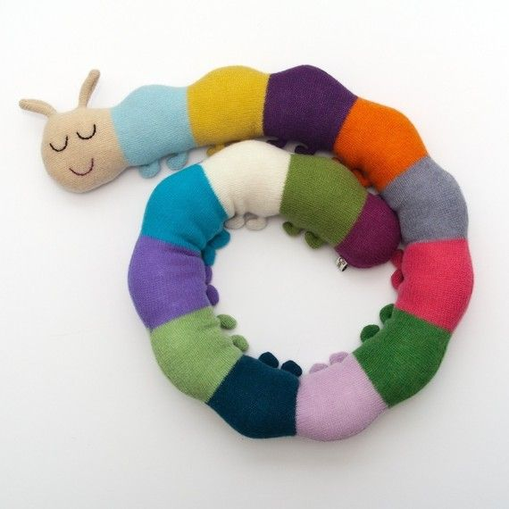 I really like this one. So cute.Kids Stuff, Saracarr, Caterpillar Lambswool, Children Toys, Twin Beds, Lambswool Plush, Extra Long, Sara Carr, Kids Toys