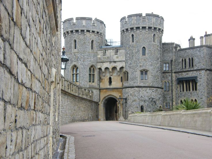 Windsor Castle. The Queens preferred residence.