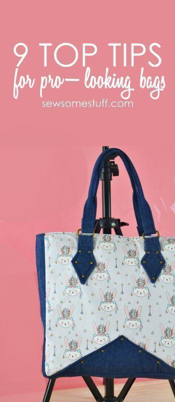 9 Beginner Bag Making Tips For Professional Bags Sewing Free Patterns Purse Handbag