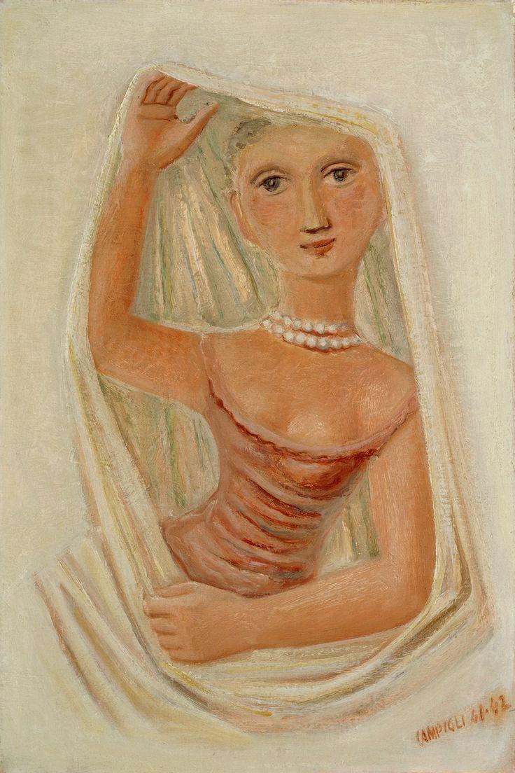 massimo campigli -  pearl necklace